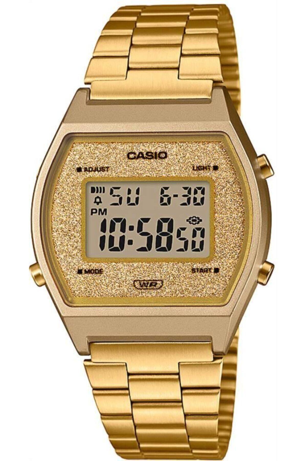 Casio Unisex Gold Retro Kol Saati B640WGG-9DF 1