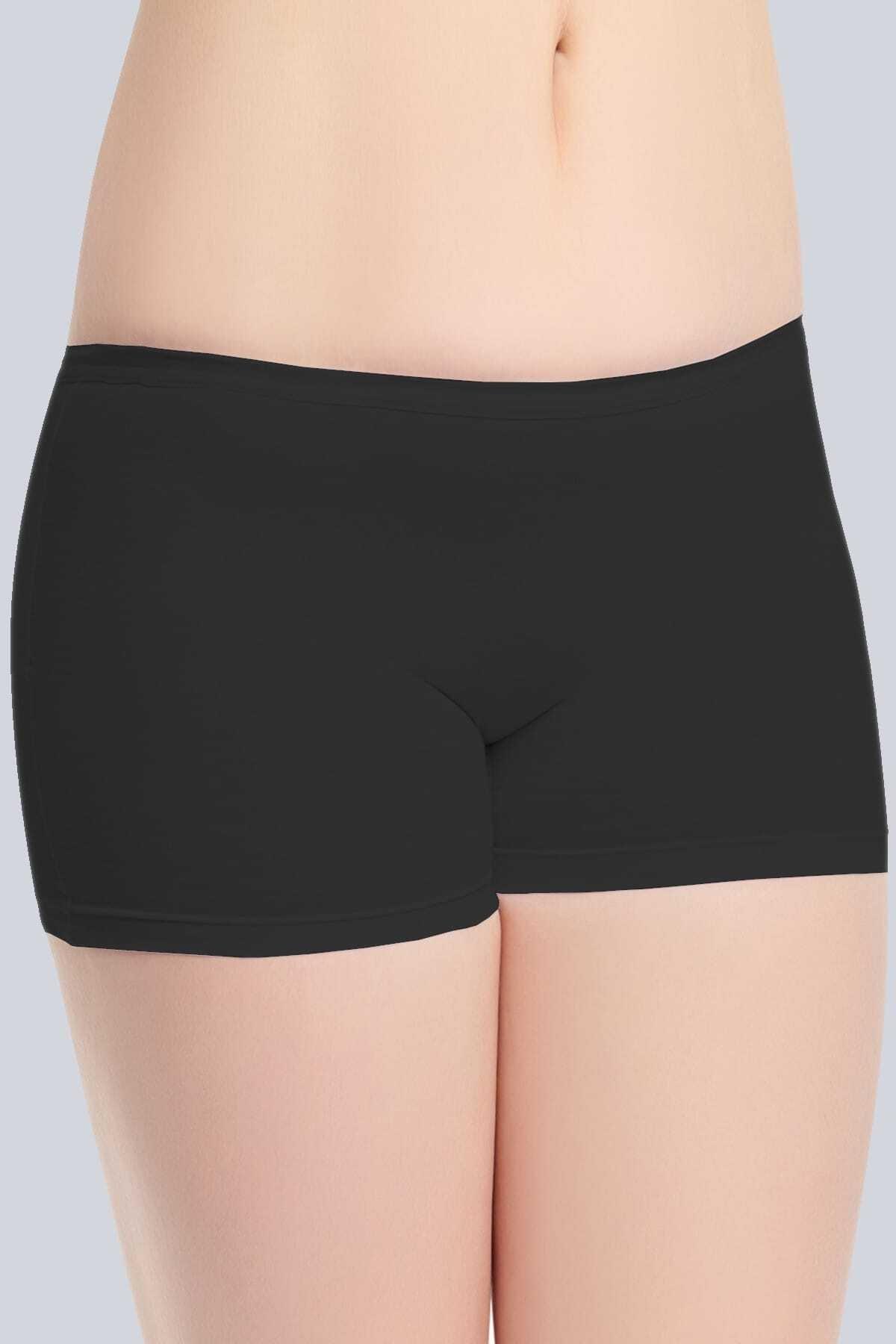 Tutku Siyah Kadın Pantolon Külodu 1