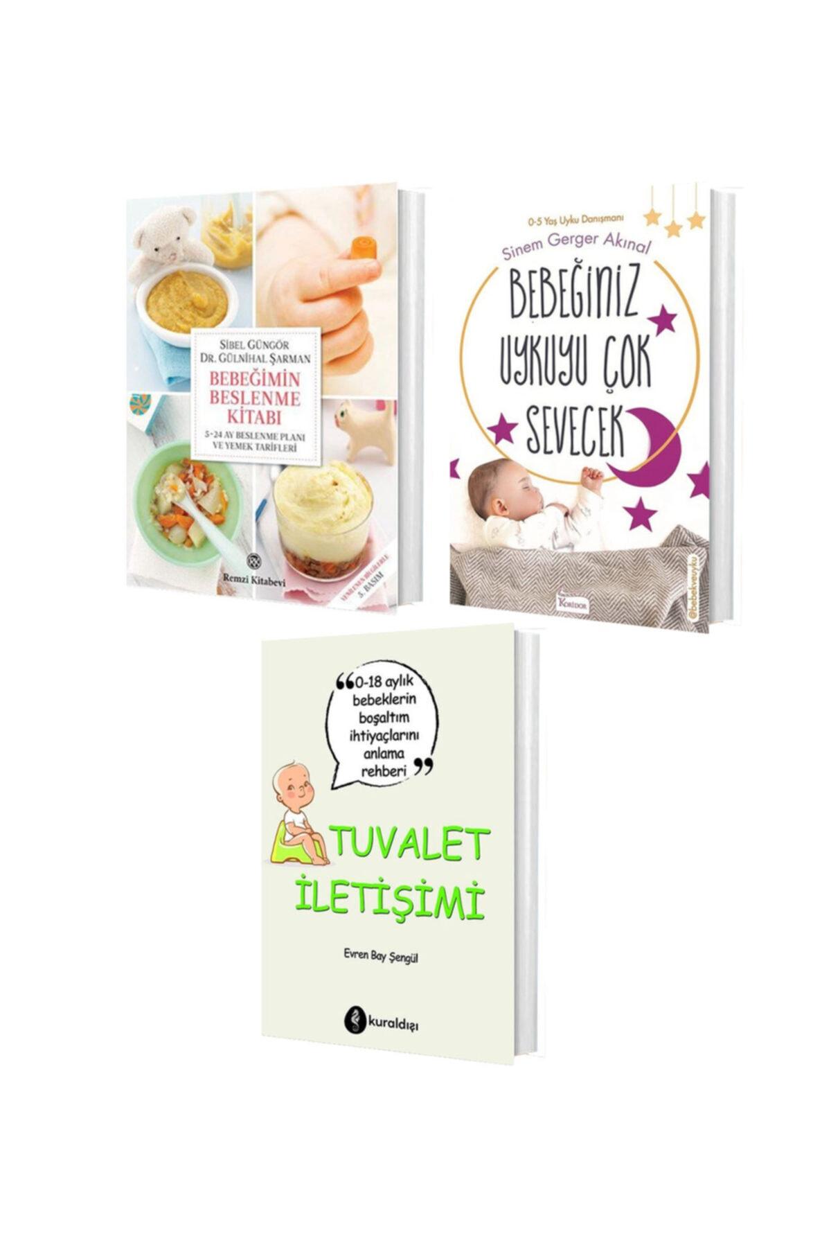 peta kitap Bebek Eğitim Seti ( Bebeğimin Beslenme Kitabı - Bebeğiniz Uykuyu Çok Sevecek - Tuvalet Iletişimi ) 1