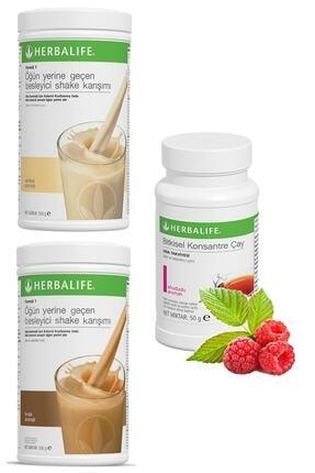 Herbalife Shake Vanilyalı 1 Adet, Fındıklı Shake 1 Adet Ve Ahududulu Çay 50gr 1 Adet