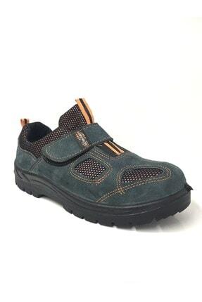 Newkamp Yazlık Çelik Burunlu Deri Iş Ayakkabısı