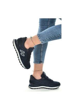Hammer Jack 19250 Laci Beyaz Hakiki Deri Kadın Günlük Spor Ayakkabı Sneaker Kalın Taban Unisex