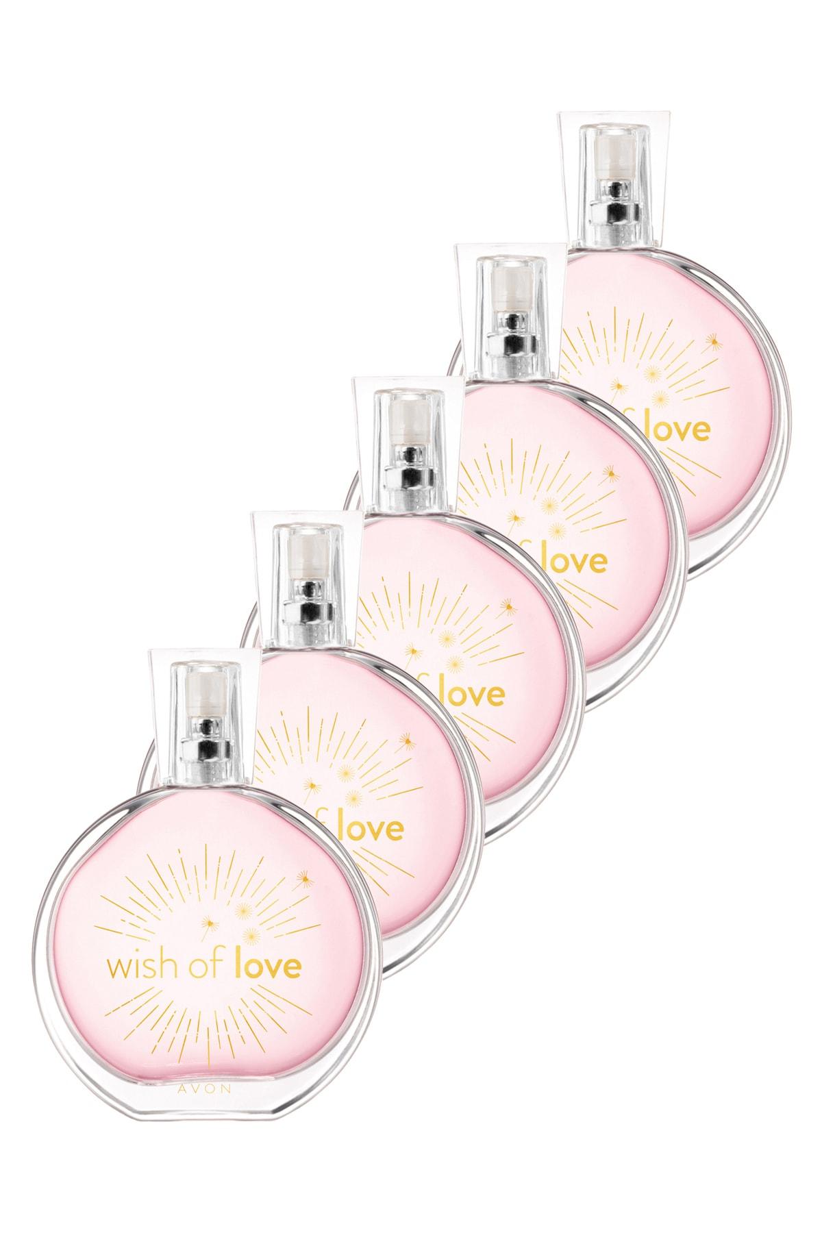 AVON Wish Of Love Kadın Parfüm Edt 50 ml 5'li Set 5050000103398