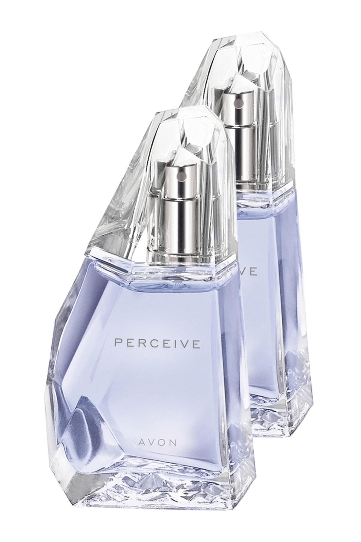 AVON Perceive Kadın Parfüm Edp 50 ml 2'li Set 5050000101851