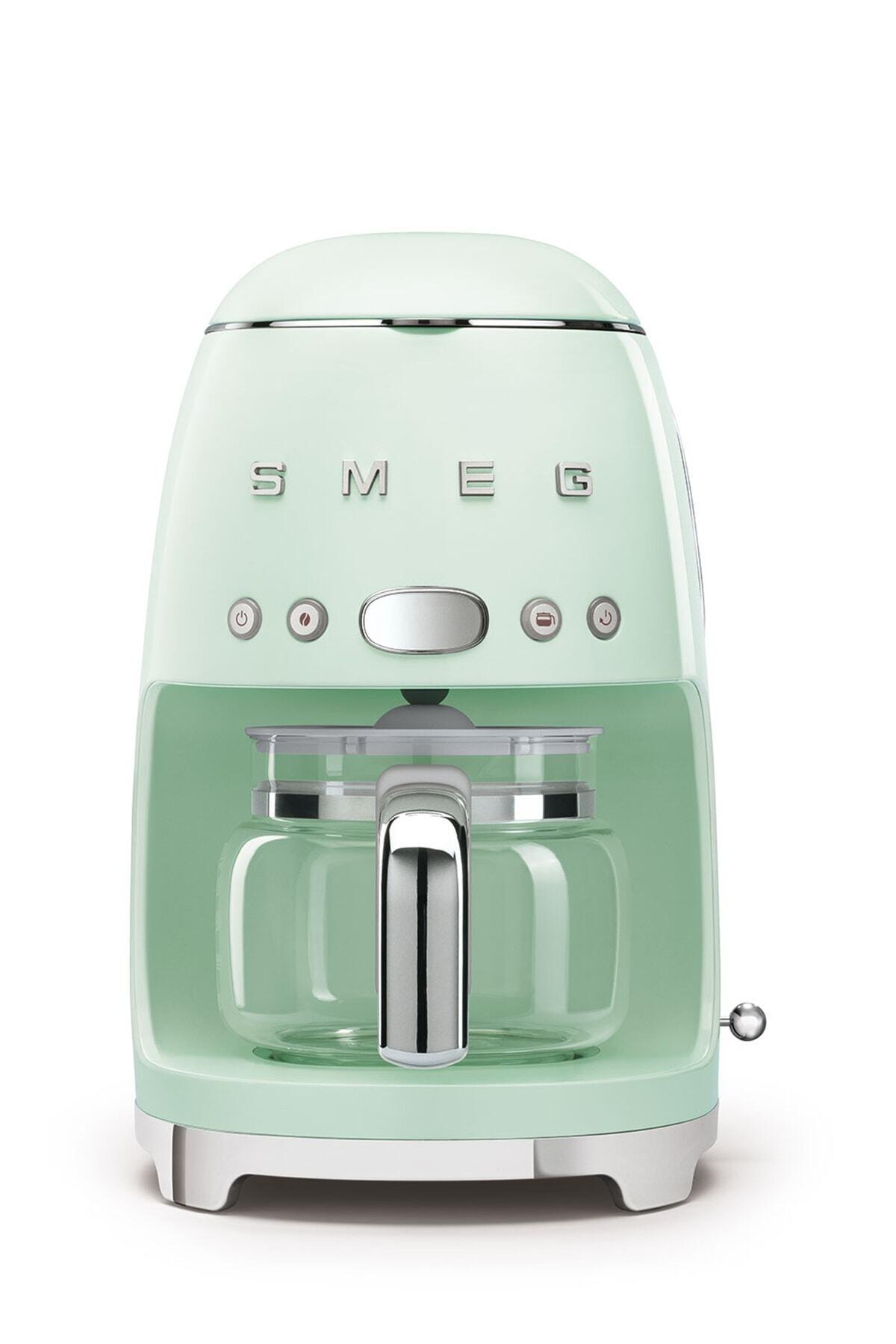 SMEG Pastel Yeşil Boyalı Çelik Kasa Filtre Kahve Makinesi Dcf02pgeu 2