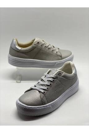Kinetix Kadın Gümüş Spor Ayakkabı