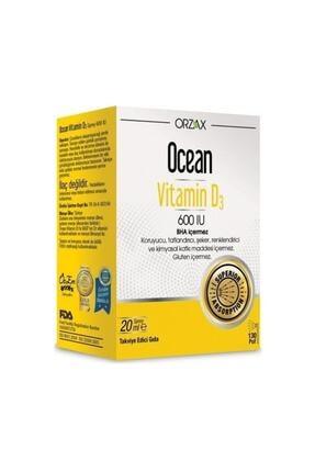 Orzax Ocean Vitamin D3 600 Iu (20 ml)