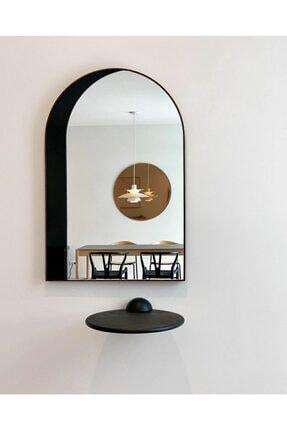 bluecape Little Magic 90 Cm Siyah Salon Ofis Mutfak Çocuk Odası Duvar Konsol Boy Aynası