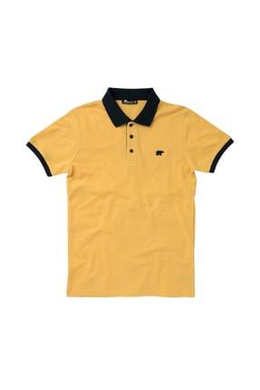 Bad Bear SWITCH PIQUE POLO MUSTARD