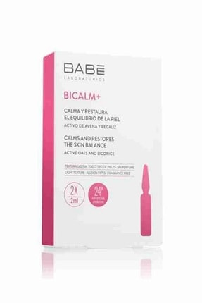 Babe Bicalm+ Ampul Yatıştırıcı Ve Onarıcı Etkili Konsantre Bakım 2x2ml