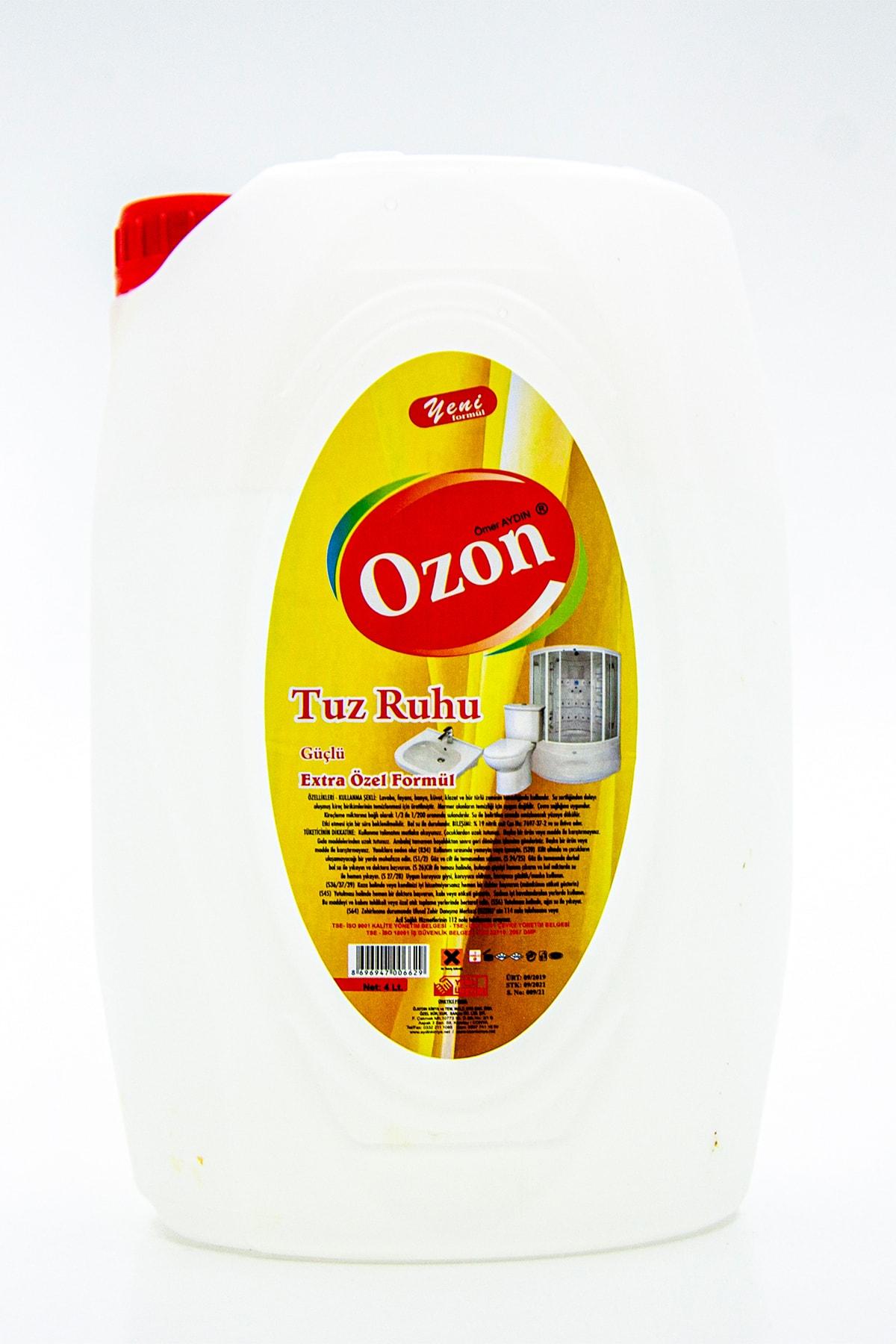 easyso Ozon Tuz Ruhu 4l, Ekstra Güçlü Formül, Yeni, Güçlü Ve Etkili 1