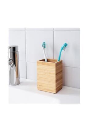 IKEA Dragan Bambu Diş Fırçalık