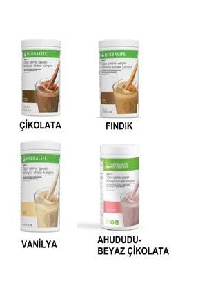 Herbalife Besleyici Öğün Yerine Geçen Karışım Kilo Vermeye Yardımcı 4lü Set! Shake 550gr