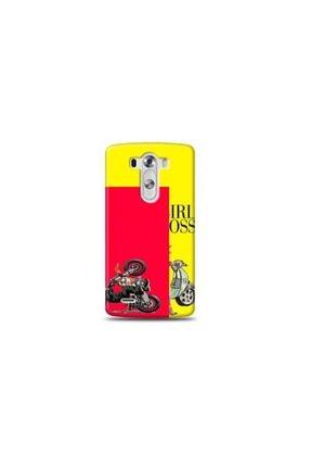 Ren Geyik Lg G3 Mini Panda Sarı Koleksiyon Telefon Kılıfı Y-srklf084