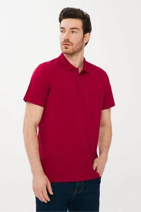 Kiğılı Erkek Kırmızı Regular Fit Polo Yaka Tişört