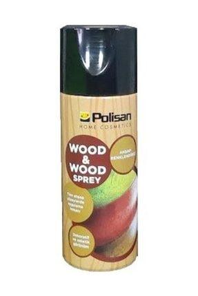 Polisan Wood Wood Ahşap Renklendirme Spreyi Maun 400ml-aynı Gün Kargoda
