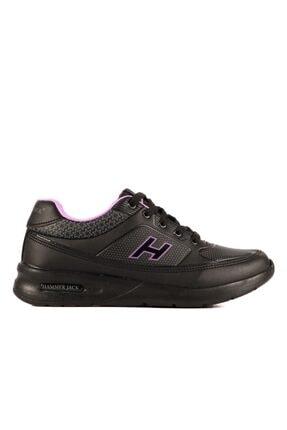 Hammer Jack Kadın Siyah Mor Sneaker