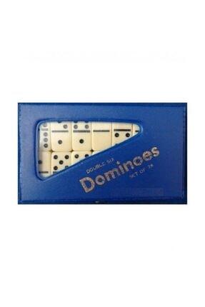 Skygo Siyah Noktalı Orta Boy Domino Taşları Beyaz