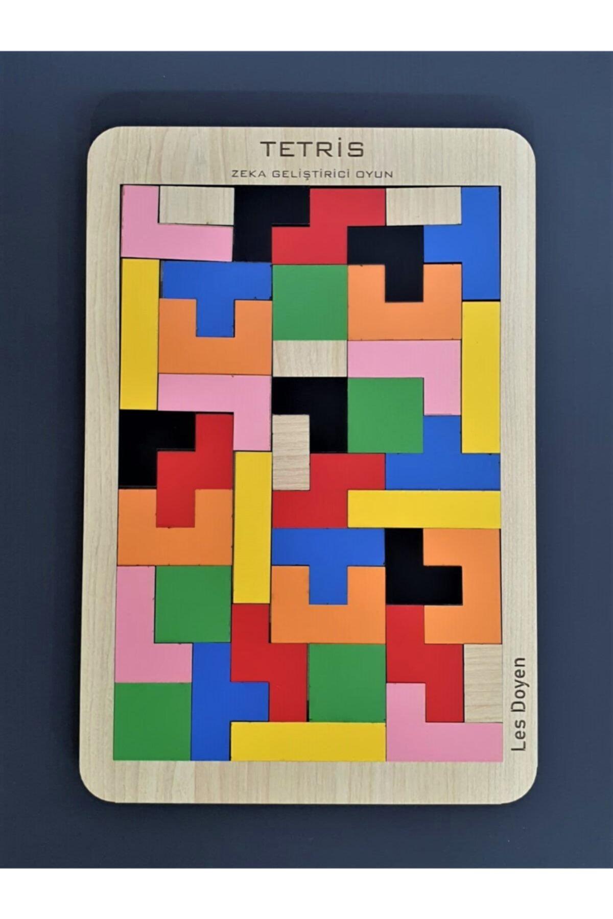 les doyen Eğitici Ahşap Tetris Oyunu Bul Tak 1