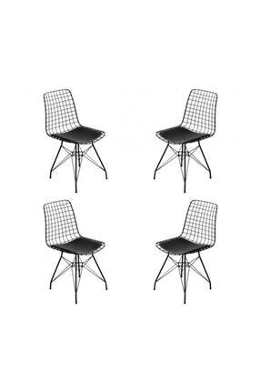 Duru Çeyiz Sandıkları Sandalye 4'lü Set