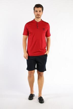 D'S Damat Erkek Kırmızı Rob Takım Triko 5'li
