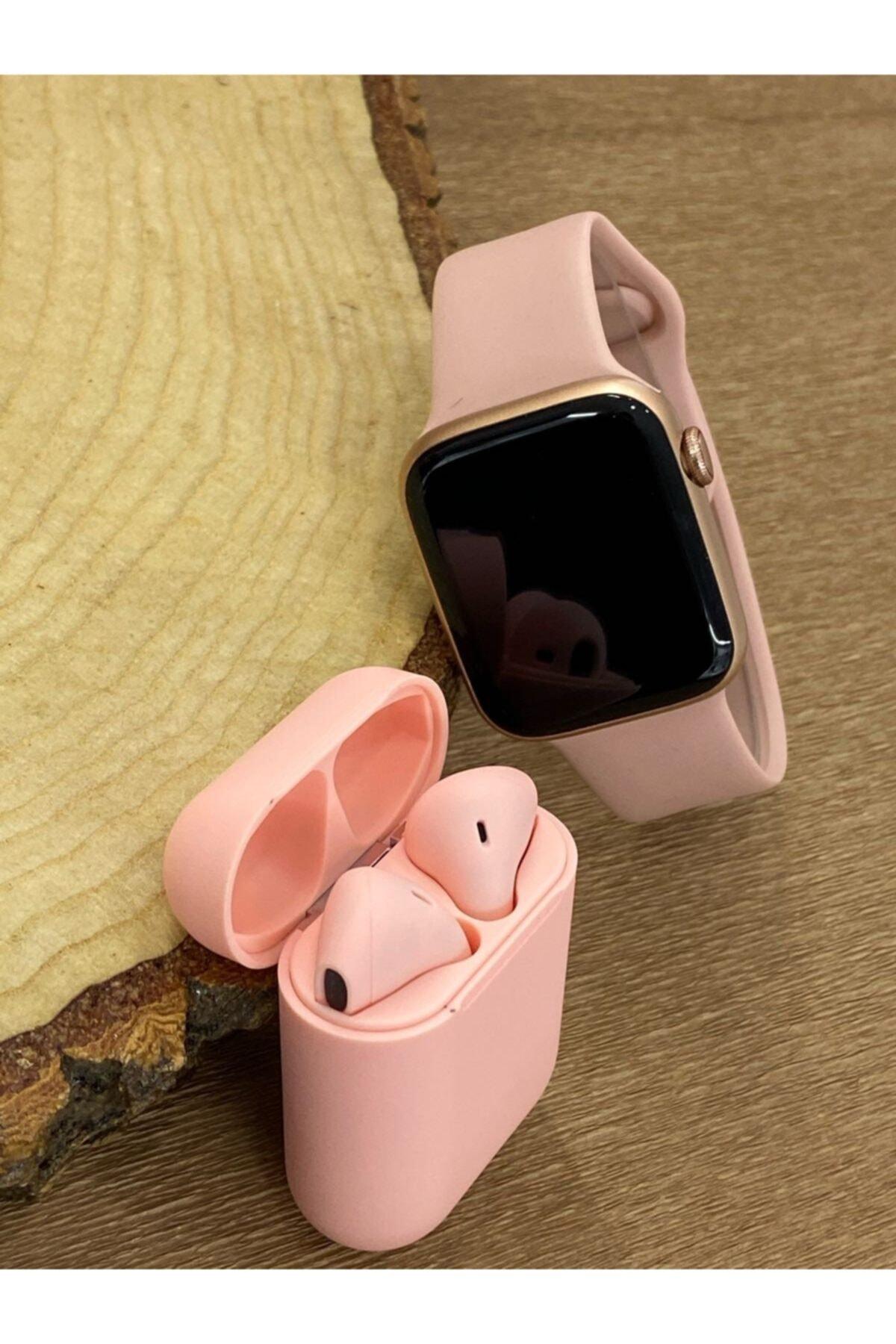 FERRO Watch 6 Plus Enson Seri 2021 Bluetooth Kulaklık Hediyeli Android Ve Ios Uyumlu 2