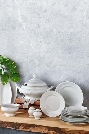 Aryıldız Square Porselen 60 Parça Yemek Takımı