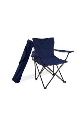 Unired Wells Kamp Sandalyesi Katlanabilir Lacivert
