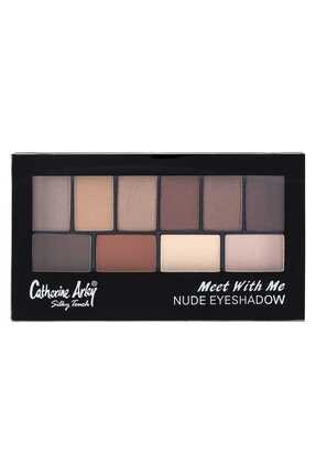 Catherine Arley 10'lu Palet Far - 2059 Meet Whıt Me Eyeshadow Nude