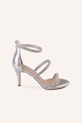 MARCATELLI Gümüş Nirvana Mini Topuklu Sandalet
