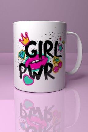 AlsancakKupa Girl Power Baskılı Kupa Bardak