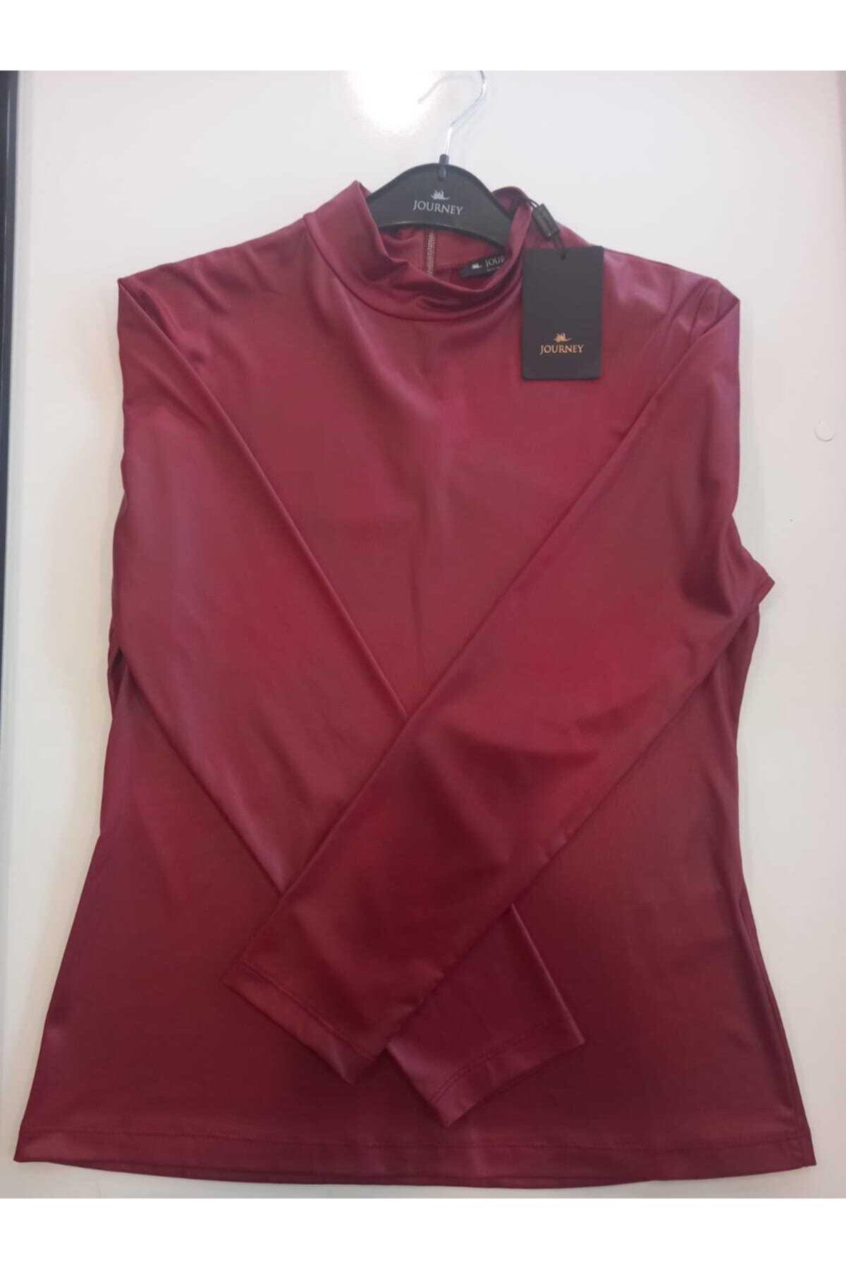 Journey Kadın Bordo Bluz 1