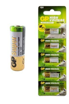 DORUK DESİGN 1 Kart 5li Gp23a 12v Alarm Kumanda Remote Alkaline Pil Batteries Gp 23ae 21/23 A23 23a Mn21 23ga