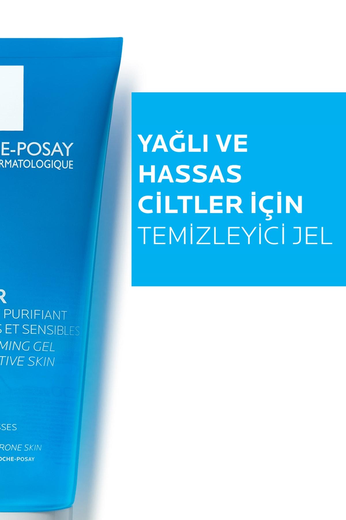 La Roche Posay Effaclar Yüz Temizleme Jeli Yağlı/Akneye Eğilim Gösteren Ciltler Parlama Karşıtı 200ml 3337872411083 2