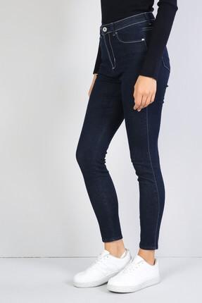 Colin's KADIN 760 Dıana Yüksek Bel Dar Paça Super Slim Fit Mavi Kadın Jean Pantolon CL1041208