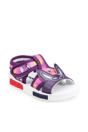 Polaris 91.510174.i Mor Kız Çocuk Sandalet 100369147