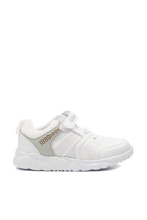 LETOON Beyaz Çocuk Spor Ayakkabı - 6303  - 001F 6303