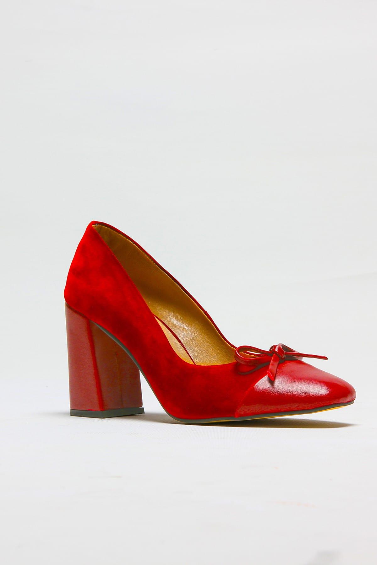 ROVIGO Kırmızı Kadın Topuklu Ayakkabı 11112014187-1-01 2