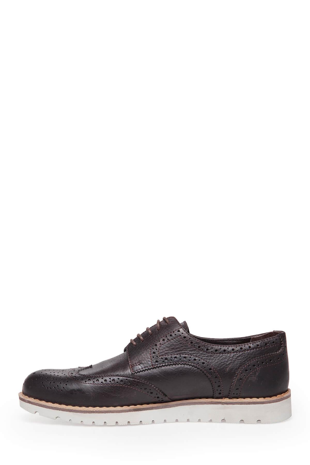 MERCEDES Hakiki Deri Erkek KAHVE Klasik Ayakkabı - ASHTON 2