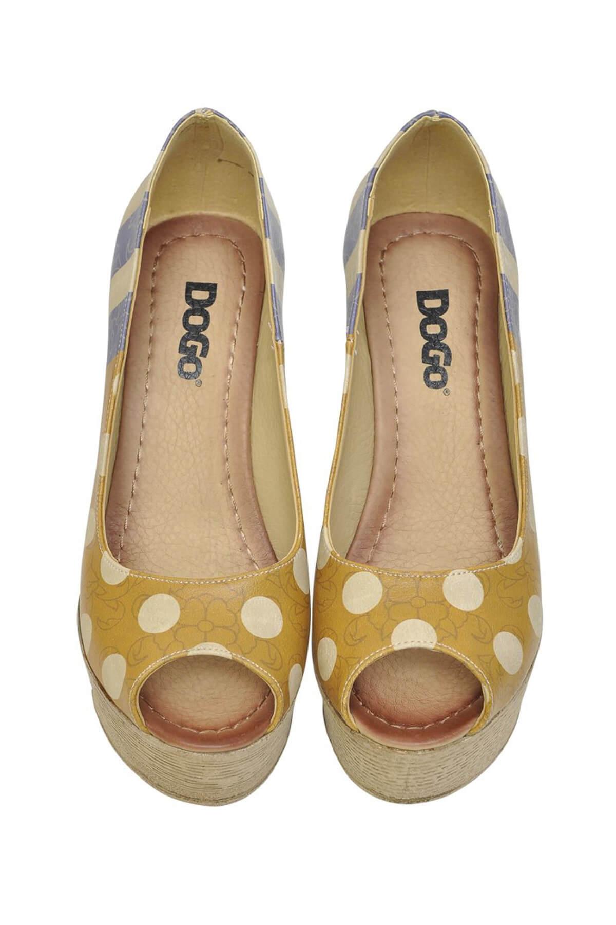 Dogo Multi Kadın Dolgu Topuklu Ayakkabı DGS017-MGD004 1