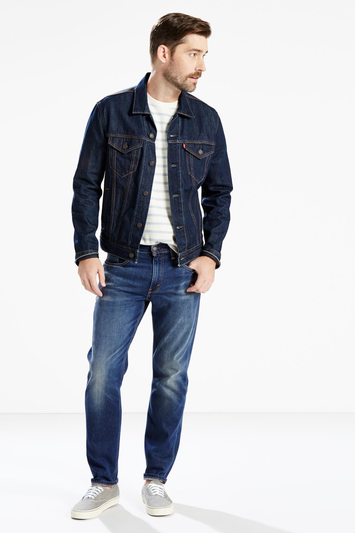 Levi's Erkek Lacivert 502 Straight Jean 29507-0021 1