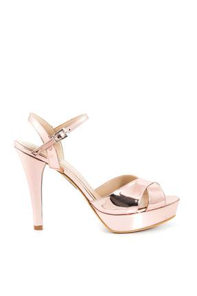 Tanca Hakiki Deri Rose Kadın Topuklu Ayakkabı 171TCK456 985