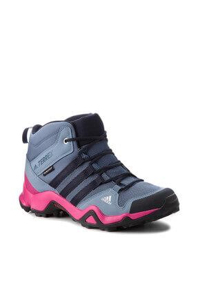 adidas TERREX AX2R MID CP İndigo Unisex Çocuk Fitness Ayakkabısı 100449111