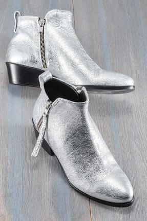 Elle Shoes REESE Hakiki Deri Lame Kadın Bot