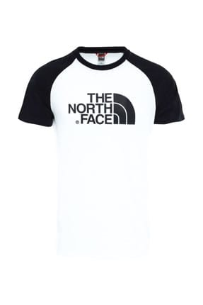 THE NORTH FACE M S/S RAGLAN EASY Beyaz Erkek T-Shirt 100576729