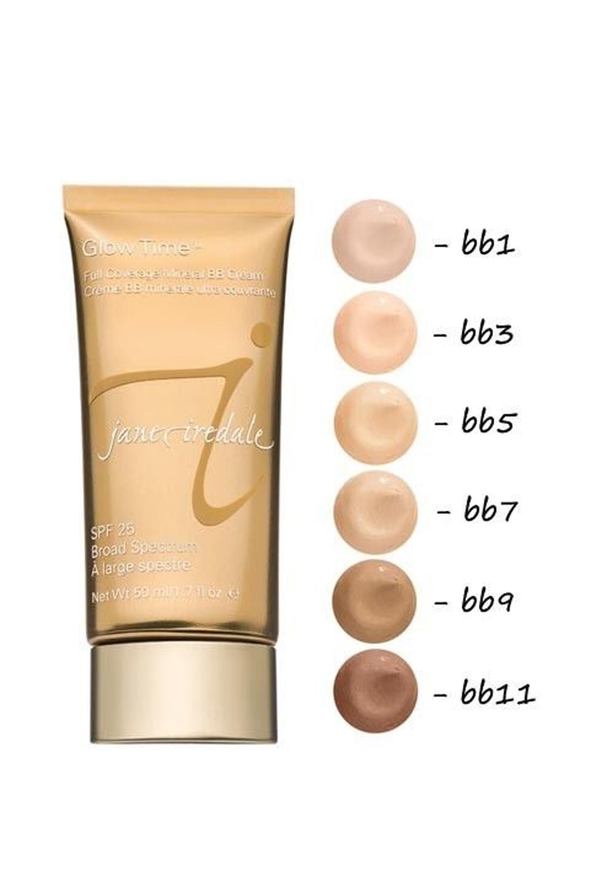 Jane Iredale BB Krem - Glow Time Full Coverage Mineral BB Cream BB7 50 ml 670959120380 2