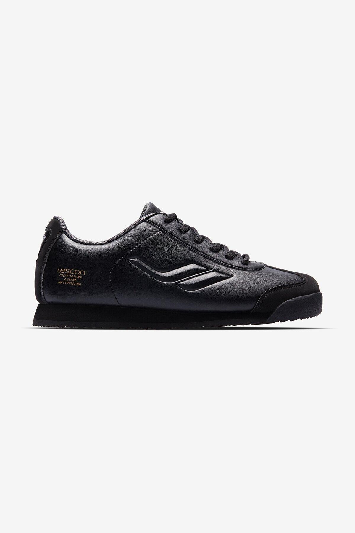 Lescon Kadın Siyah Wınner Sneaker 2