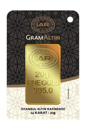 Harem Altın 20 gr IAR Külçe Gram Altın  HRM2813