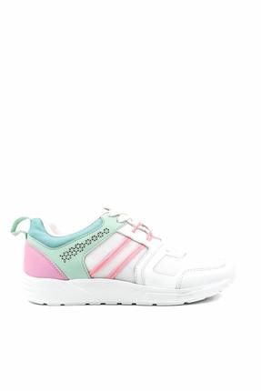 LETOON Beyaz Kadın Spor Ayakkabı - 001Z 6216