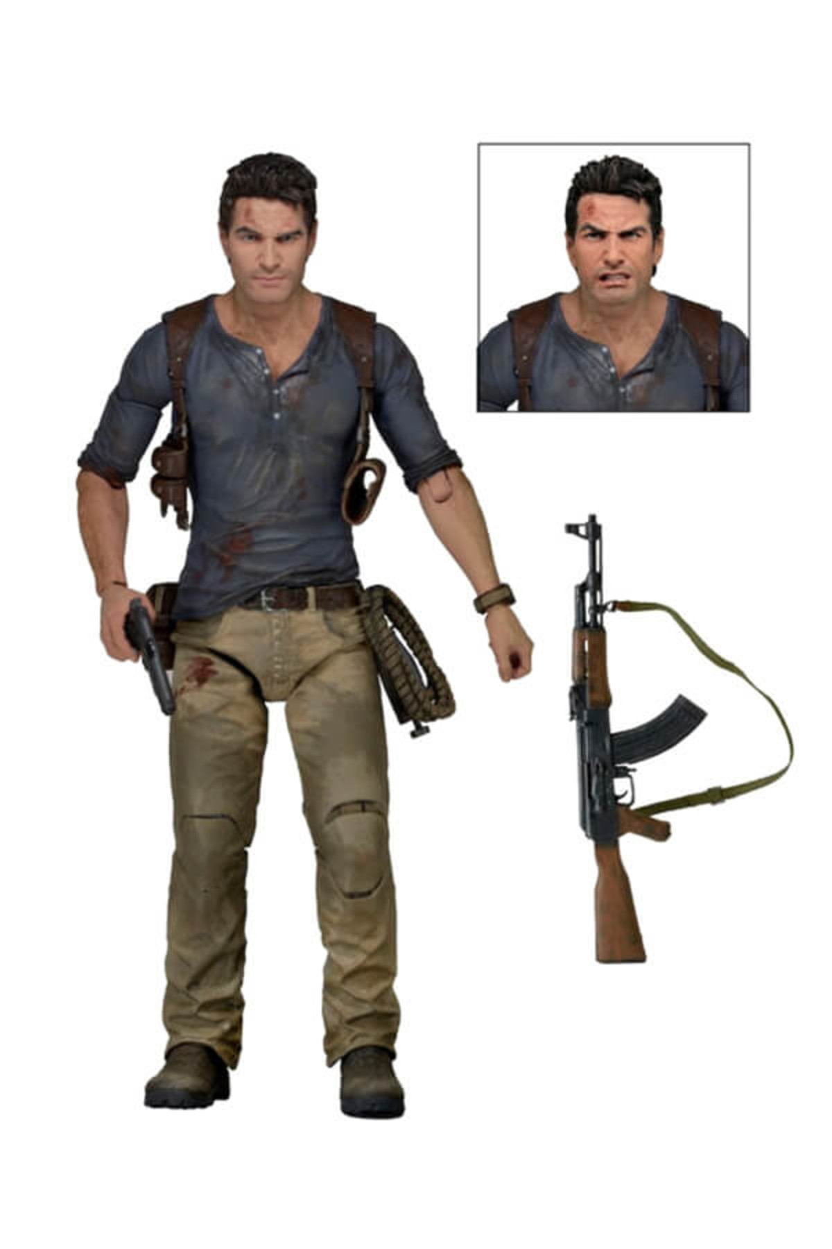 Neca Uncharted 4 Ultimate Nathan Drake 7 Inch Action Figure 1